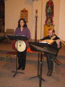 St. Maurice Church, Chicago. Cantigas rehearsal